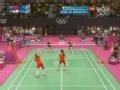 奥运视频-中国组合猛攻 日本手忙脚乱回球出界