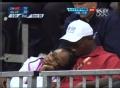 奥运视频-中国队大比分落后巴西 台上观众睡着