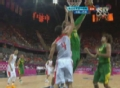 奥运视频-巴西队连抢前场篮板 以一敌二打成2+1