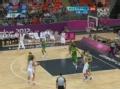 奥运视频-丁锦辉外线3分投篮外空心 男篮VS巴西
