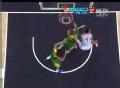 奥运视频-丁锦辉篮下制造犯规 男篮中国VS巴西