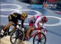 奥运视频-哈尼斯旺火箭冲刺 自行车男子争先赛