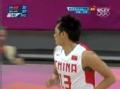 奥运视频-陈江华招牌快速突破得手 中国VS巴西