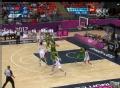 奥运视频-周鹏演背打转身跳投 男篮中国VS巴西