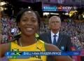 奥运视频-女子100米半决赛第二小组弗雷泽第一