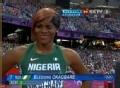 奥运视频-女子100米半决赛第三组奥卡巴雷第一
