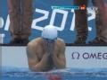 奥运视频-震撼一幕:孙杨夺冠后 击水大吼落泪