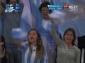 奥运视频-球迷送歌声助威 阿根廷力克尼日利亚