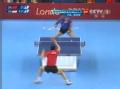 奥运视频-马龙下蹲拉球抽杀 男乒团体1/4决赛