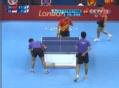 奥运视频-王皓台下回旋轻拉 男乒团体1/4决赛