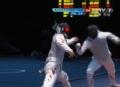奥运视频-朱俊一剑封喉挽劣势 男团花剑1/4决赛