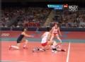 奥运视频-惠若琪扣小斜线得分 女排中国VS韩国