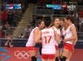 奥运视频-张磊跑动进攻再下1分 女排中国VS韩国
