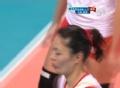 双人拦网拿最后1分 中国惊天逆转韩国胜第1局