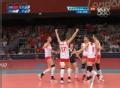 奥运视频-中国双人拦网得分 成功逆转拿下第1局