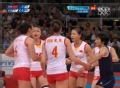 奥运视频-楚金玲后场强攻得手 女排中国VS韩国