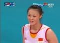 奥运视频-中国队有效拦网 惠若琪四两拨千斤