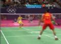 奥运视频-李宗伟网前轻吊得分 男羽单打决赛