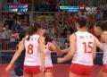 奥运视频-曾春蕾接传球扣杀得分 中国VS韩国
