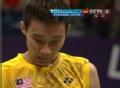 奥运视频-李宗伟网前挑球出界 羽毛球男单决赛