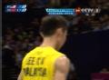 奥运视频-李宗伟快速突击网前 羽毛球男单决赛