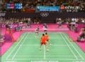 奥运视频-蔡赟绝技抢赛点 羽毛球男子双打决赛