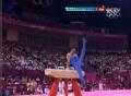 奥运视频-意大利选手上演托马斯 男子鞍马决赛