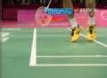 奥运视频-李宗伟底线判断失误 超级丹扳平比分