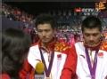 奥运视频-傅海峰蔡赟感言 自叹国羽强盛不可敌