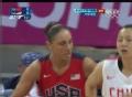 奥运视频-托拉希突破上篮得分 女篮中国VS美国
