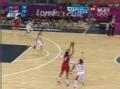 奥运视频-中国队全场紧逼 陶乐西无人防上空篮