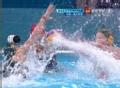 奥运视频-何金二度反手攻门 击中门框反弹射入