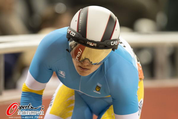 奥运图:场地自行车赛竞争激烈 乌克兰选手