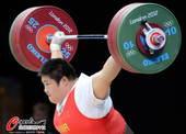 奥运图:女举75kg周璐璐夺金 气势如虹