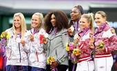 奥运图:网球女双威廉姆斯姐妹夺冠 冠亚季军