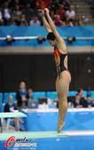 奥运图:跳水3米板决赛吴敏霞夺冠 何姿弹跳
