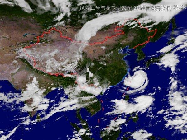 中央气象台卫星云图 中央气象台卫星图片