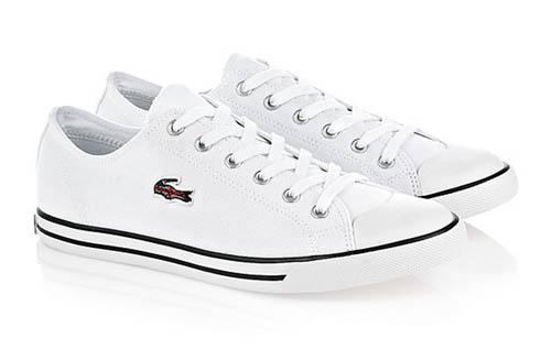 白色帆布鞋$550