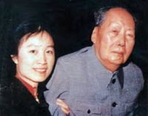 秘书孟锦云与晚年毛泽东 (资料图)
