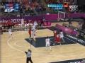 奥运视频-伯德演弧顶三分入网 女篮中国VS美国