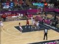 奥运视频-宋晓云失误传球 麦考夫特里断球上篮