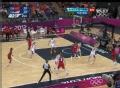 奥运视频-玛雅摩尔飙精准三分 女篮中国VS美国