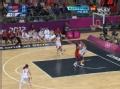 奥运视频-高颂底线发球被断 帕克跟进轻松上篮