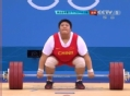 奥运视频-周璐璐挺举181kg 举重女子75kg以上级