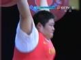 奥运视频-周璐璐挺举187kg成功 总成绩再破纪录