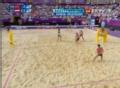 奥运视频-薛晨直击斜线 沙排女子中国VS奥地利