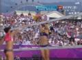 奥运视频-薛晨拦网得分 沙排女子中国VS奥地利