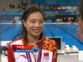 奥运视频-夺金后落泪 吴敏霞:奥运是我的舞台