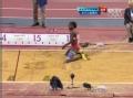 奥运视频-伊巴古恩第三跳14.67米 女子三级跳远