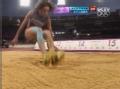 奥运视频-萨拉杜哈14.79领先 女子三级跳远决赛